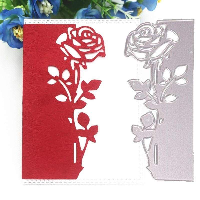 Rose Lace Metal Embossing Cutting Die DIY Carbon Steel  Embossing Card Making Frame