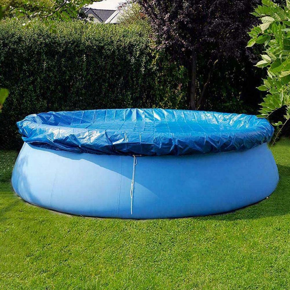 DUST-COVER  SWIMMING-POOL ROUND INFLATABLE CLOTH CLOTH-CLOTH-BRACKET