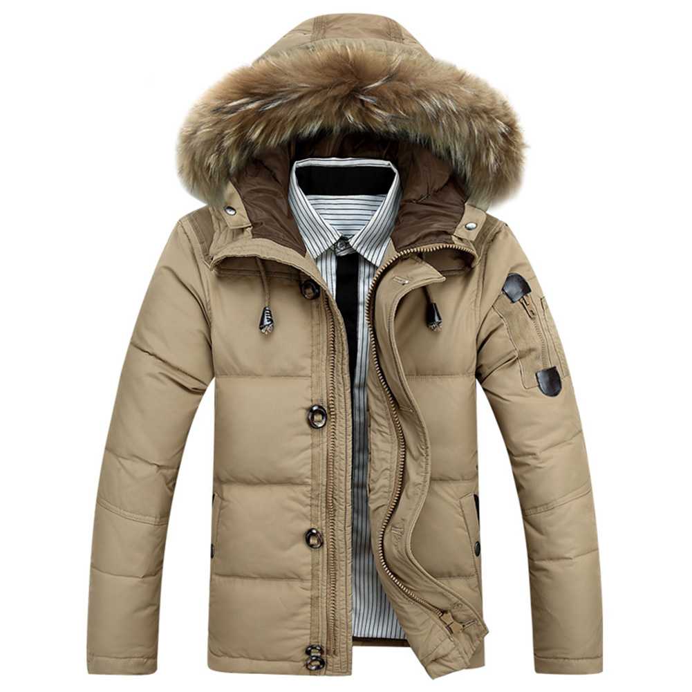 Men's winter warm down jacket