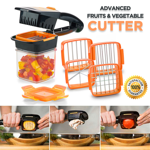 Vegetable Cutter Kitchen Accessories(BUY 1 GET 3 MAGIC SPONGES)