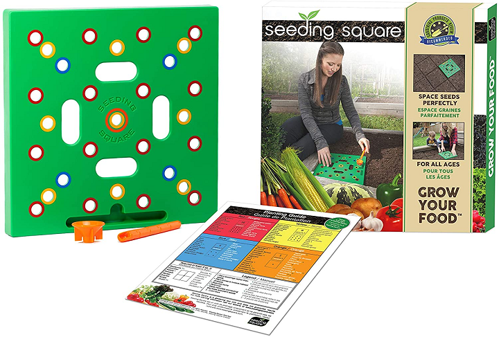 A Seed-Sowing Template – Grow Perfectly Spaced Vegetables