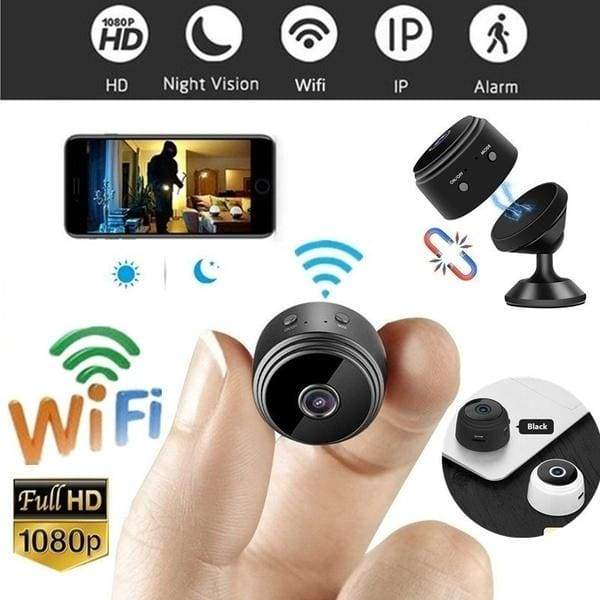 Mini WiFi Camera Night Vision HD 1080P Magnetic Adsorption With Gift Camera Holder