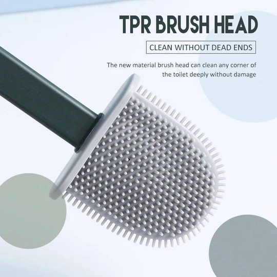 Bathroom Toilet Cleaning Brush And Holder Set-BUY 2 FREE SHIPPING