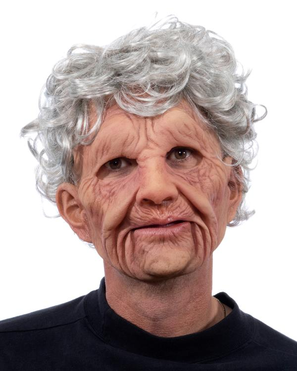 Realistic Old Man Mask
