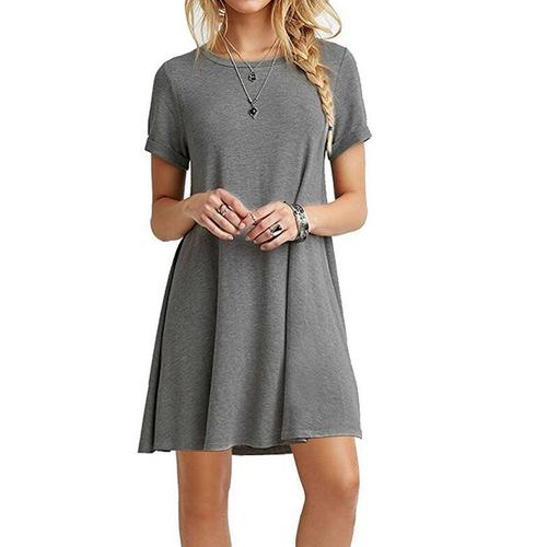 Womens ONeck Party Summer Dress
