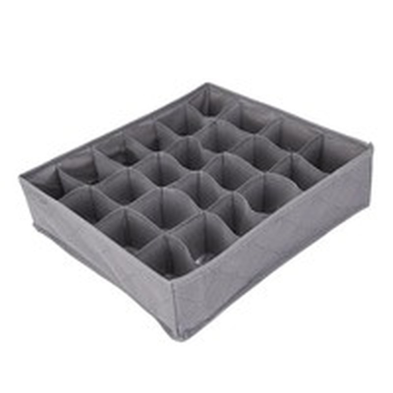 3pcs/lot 3 In 1 Bamboo Storage Box Container Drawer Divider Lidded Closet Boxes for Ties Socks Bra Underwear Organizer