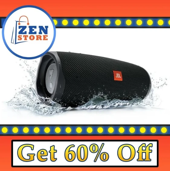 【Big Sale, Only $33..99 Today!!】Charge 4/5 Wireless Bluetooth Speakersa(Free shipping for purchase of two or more)
