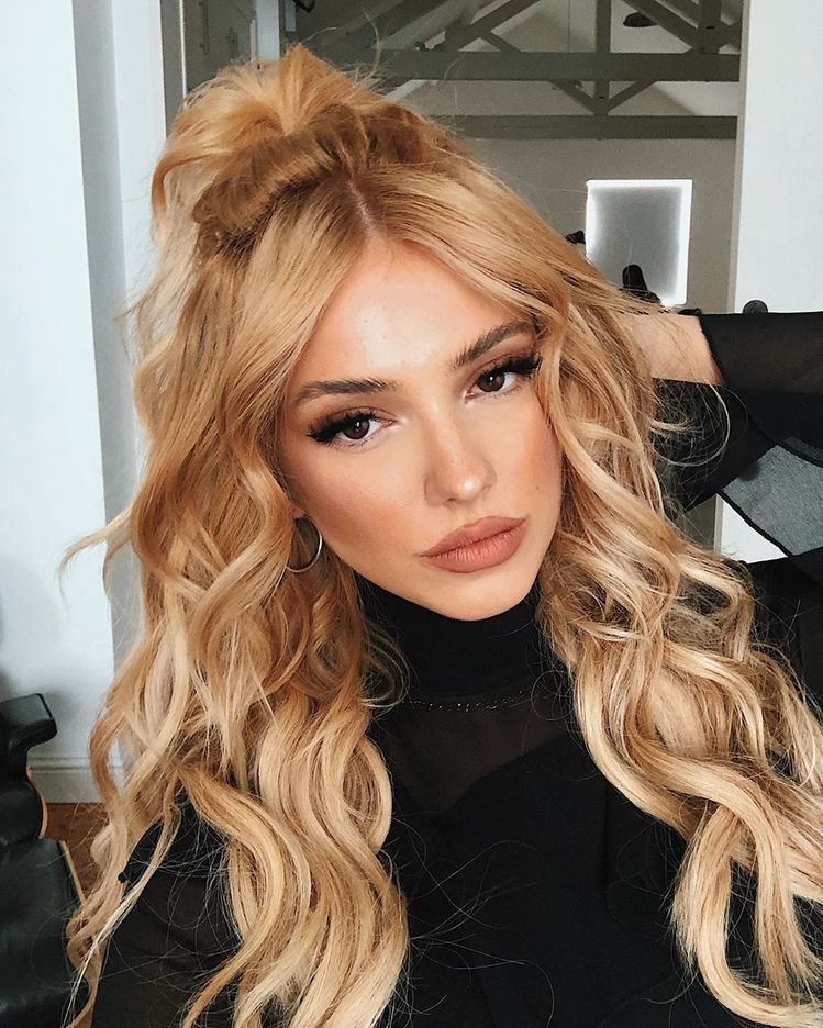 Lace Front Wigs Blond Hair Dark Roots Ash Blonde Ombre Extensions Honey Blonde Ombre Wig