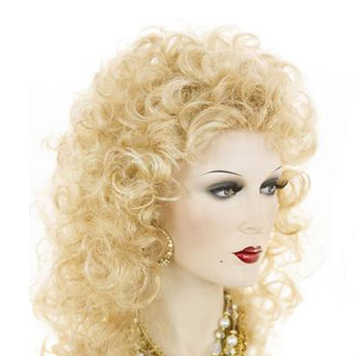 Luna 101 Women Sensationnel Long Kinky Curly Afro Wig with Bangs