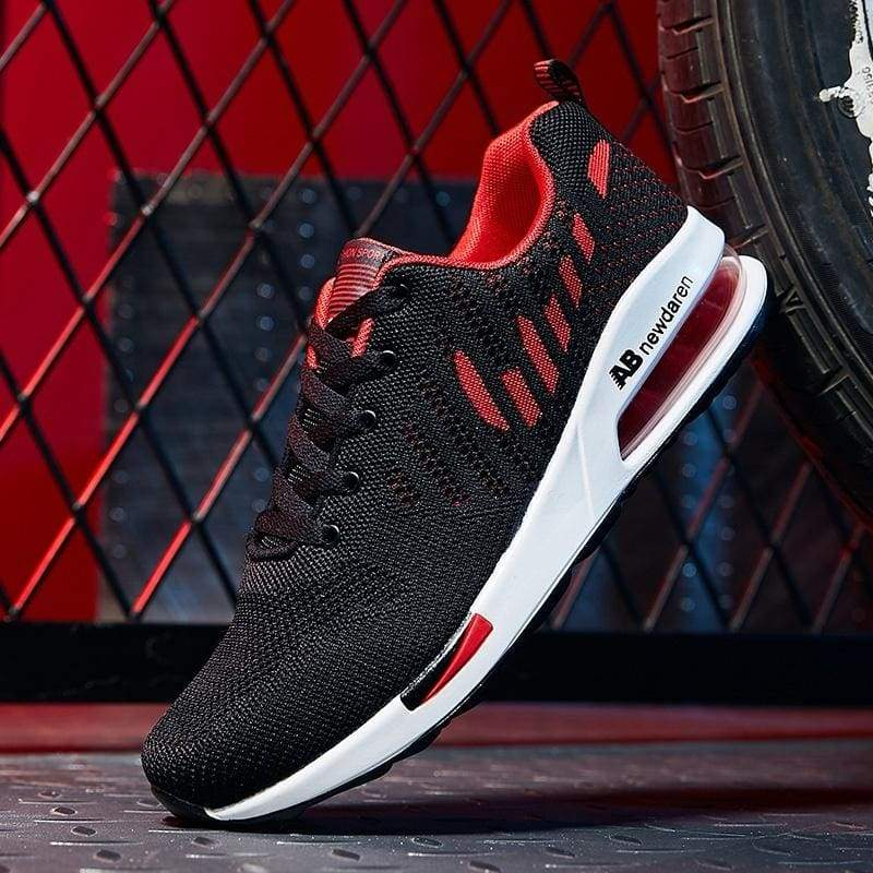 Men's cushioned sports shoes