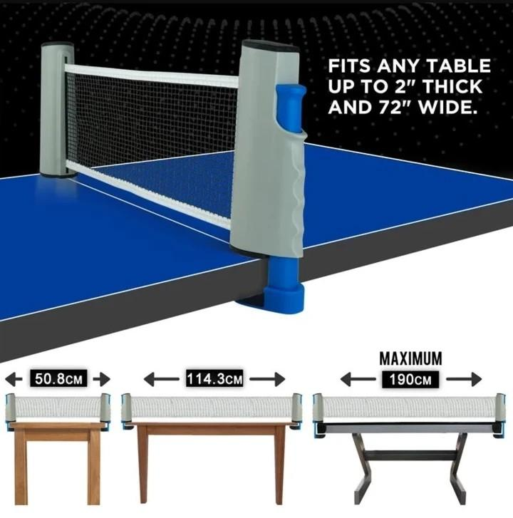50%OFF TODAY-RETRACTABLE TABLE TENNIS NET