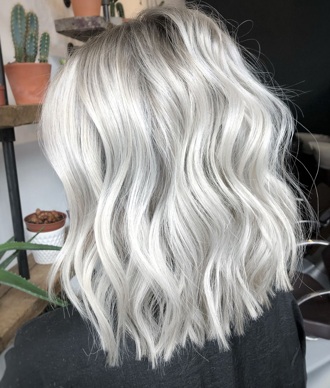 2020 New Gray Hair Wigs For African American Women Denki Wig Issa Wig Gray Human Hair Good Synthetic Wigs Sabrina Wig