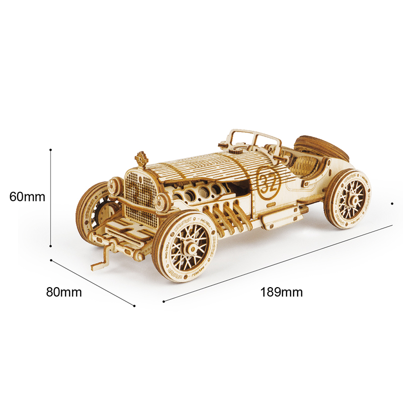 Hot Sale!!--Super Wooden Mechanical Model Puzzle (50% OFF & Buy 2 FREE SHIPPING)
