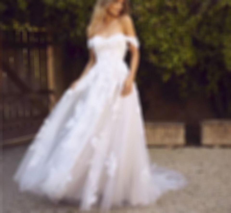 2020 New Wedding Dress Fashion Dress second hand wedding dresses semi formal look for ladies