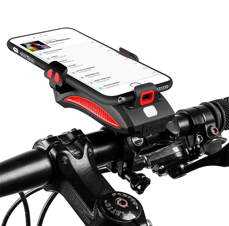 4 IN 1-Cycling Phone Holder