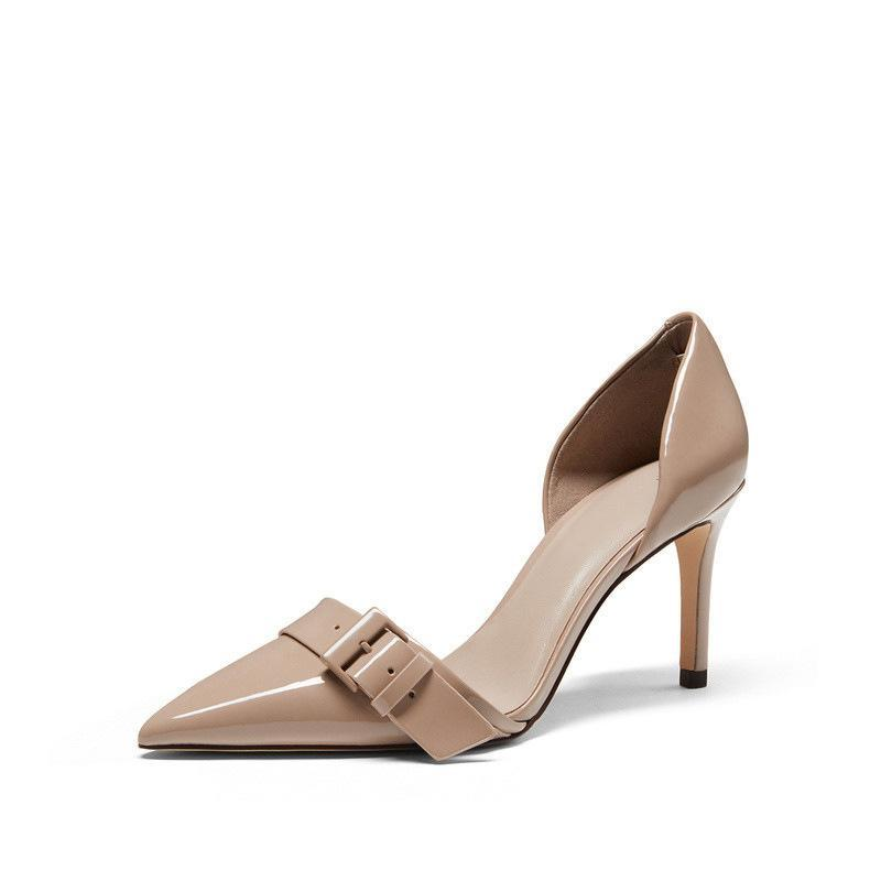 Women's PU Leather with Stiletto Heels