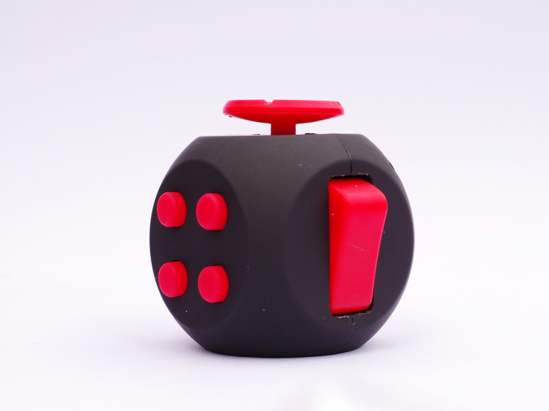 Anxiety Relief 6 Sides Magic Anti Stress Cube Spinner Toys