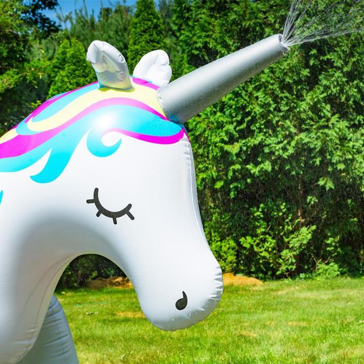 Ginormous Unicorn Yard Sprinkler,(Stands Over 6 Feet Tall!)