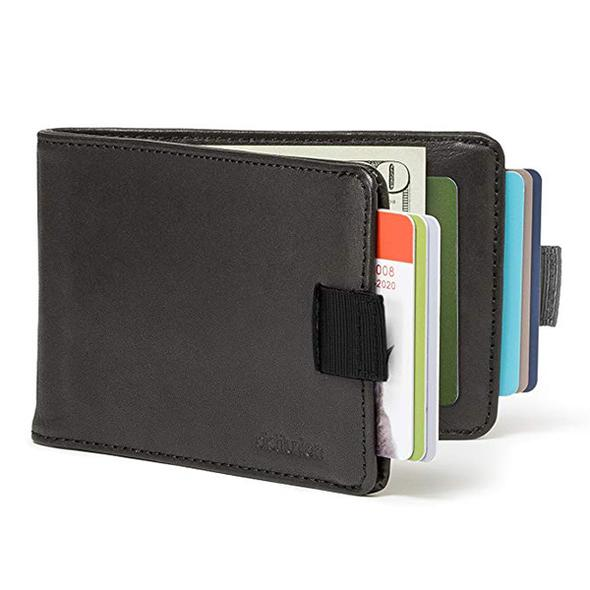 Extra-large capacity thin leather pull-wallet - Buy 2 Free Shipping