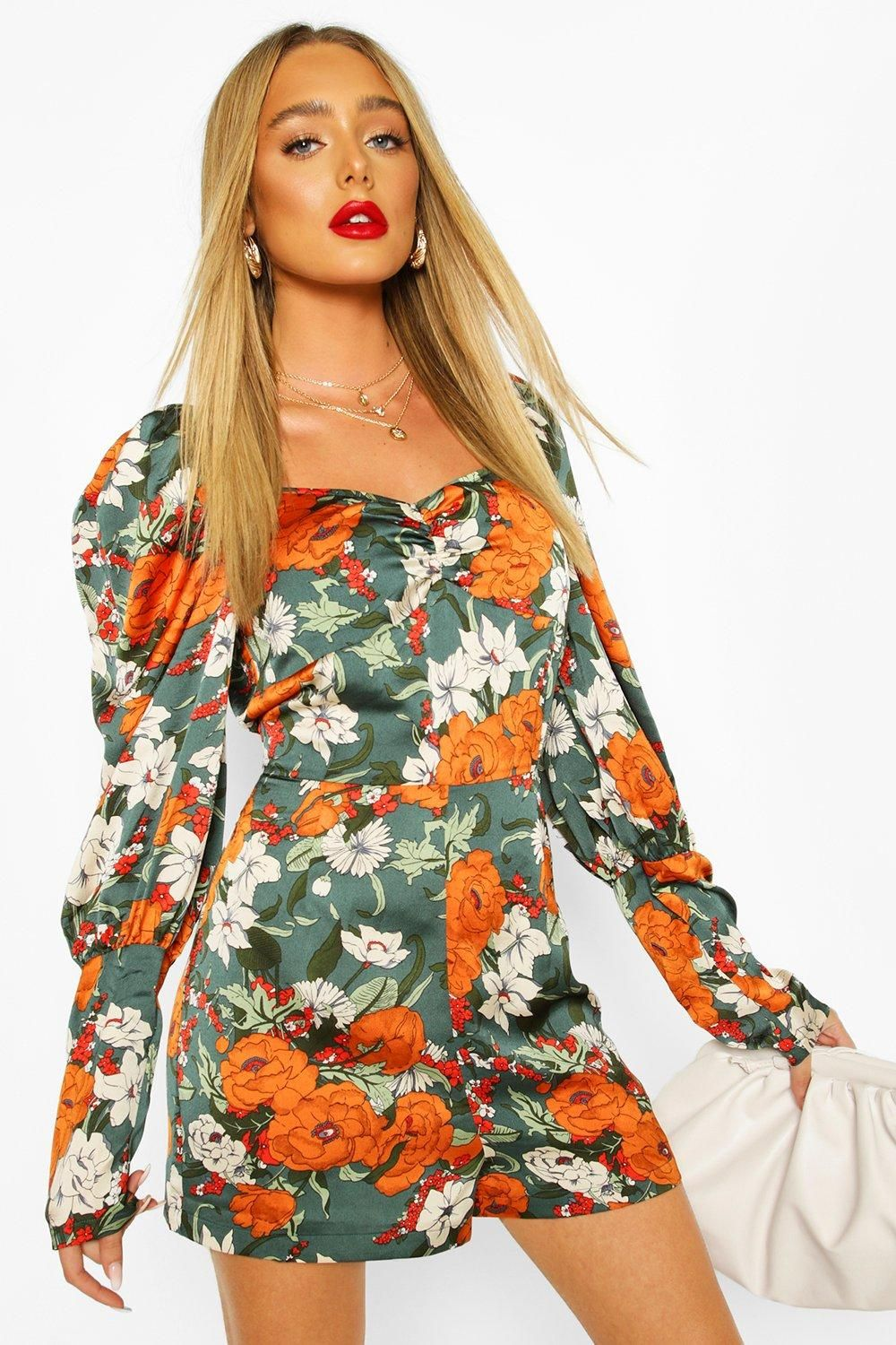 2020 Women Dress Casual Dress Print Plus Size Holiday Clothes Smart Dress Code For Ladies