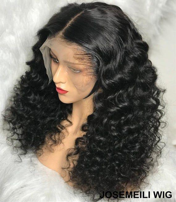Lace Front Wigs Black Hair black bob wig halloween In Loverlywigs.com