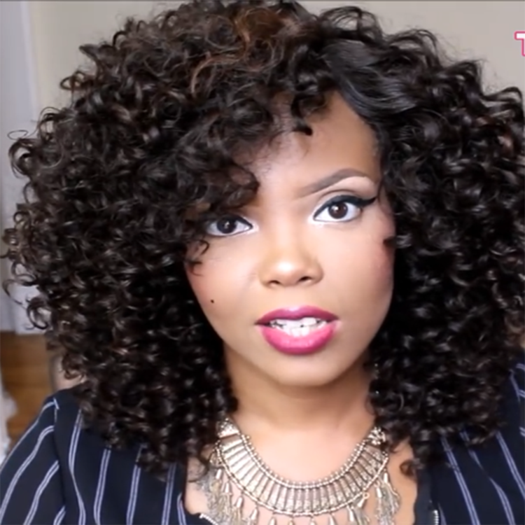 CLASSYWIG| LONG KINKY CURLY WIGS FOR BLACK WOMEN - HOT019