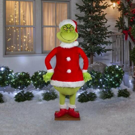 🔥BUY 2 FREE SHIPPING🔥3 YEARS WARRANTY🔥Factory Outlet - Christmas Ornament The Lifelike Animated Grinch