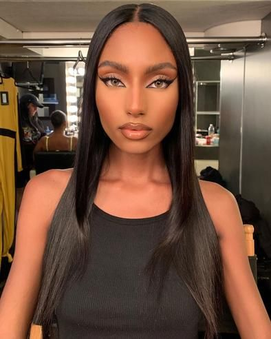 2020 New Straight Wigs Black Long Hair 12 14 16 Inch Weave Straight Short African Wigs