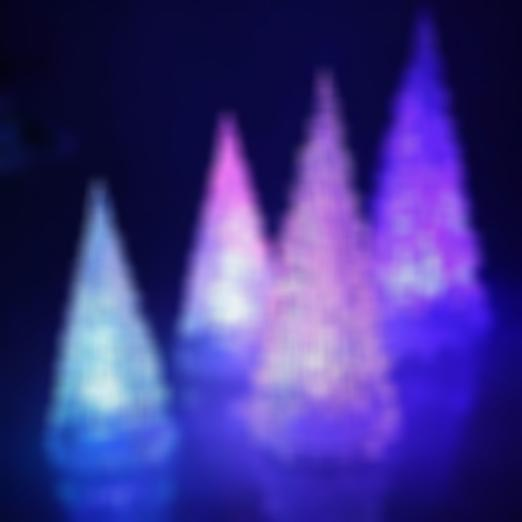 Acrylic Christmas Tree with LED Lighting