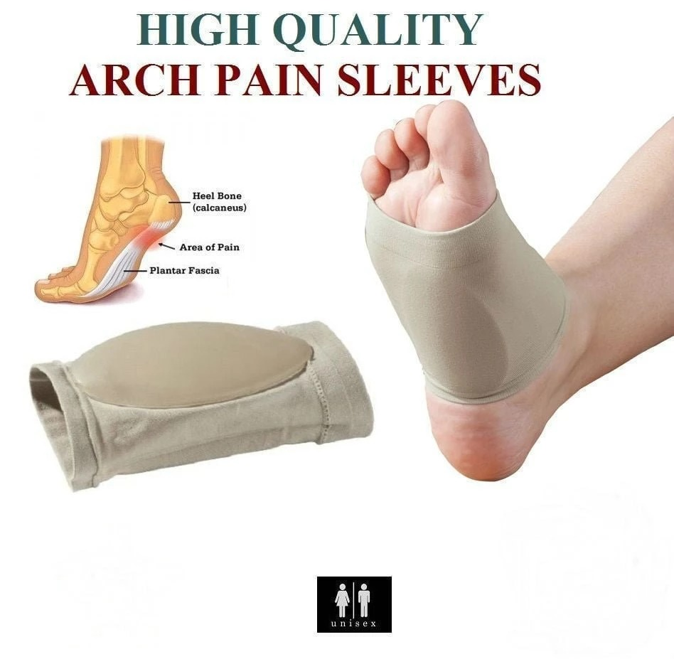Heel Cushion for Flat Foot Arch Support