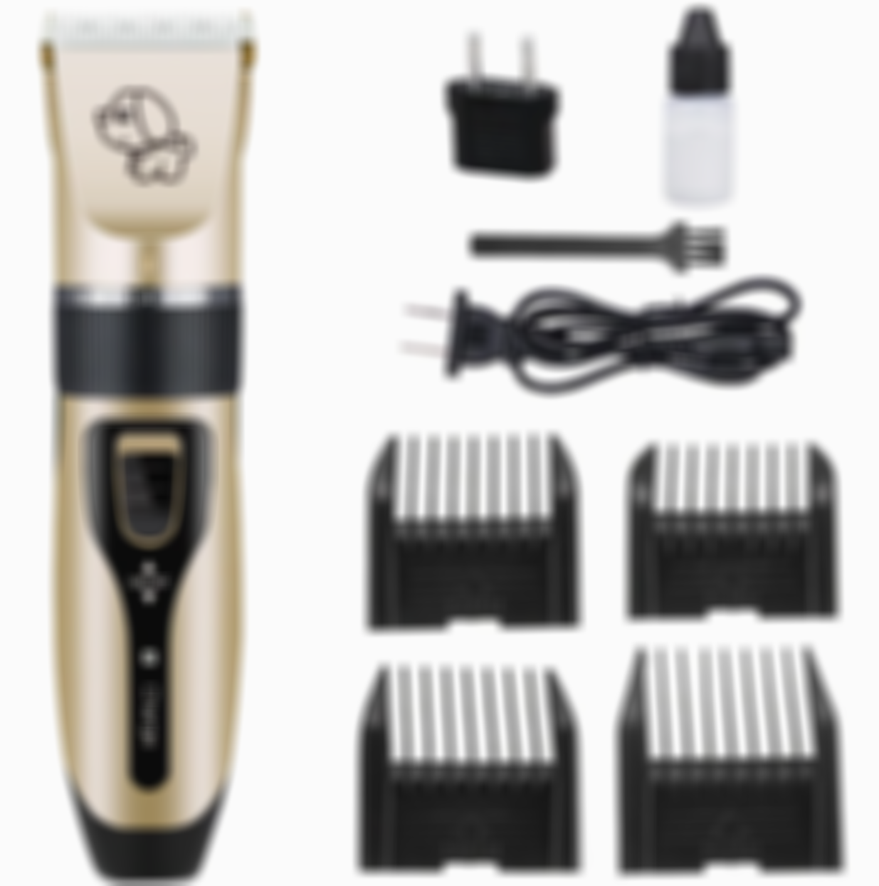 LOW NOISE PET HAIR CLIPPER - SAFELY TRIMS YOUR PET'S COAT!