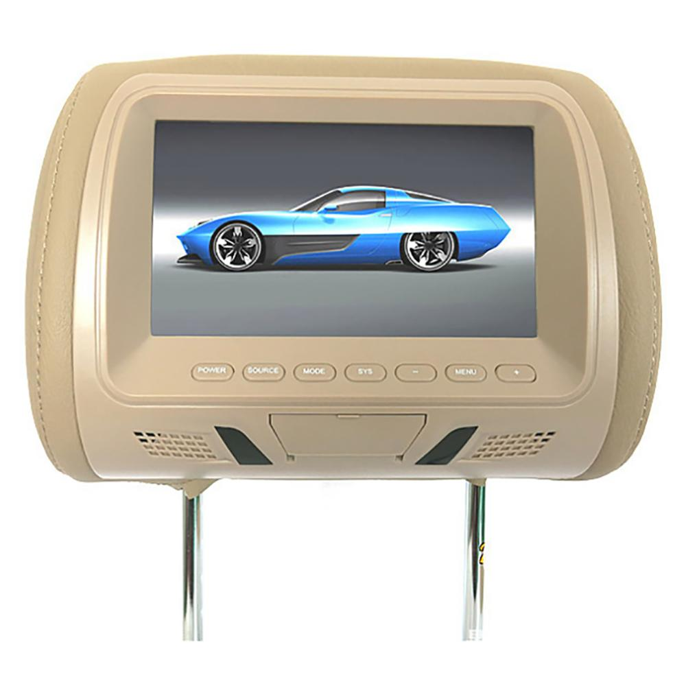 🔥HOT SALE🔥9 Inches Car Headrest Monitor DVD Player