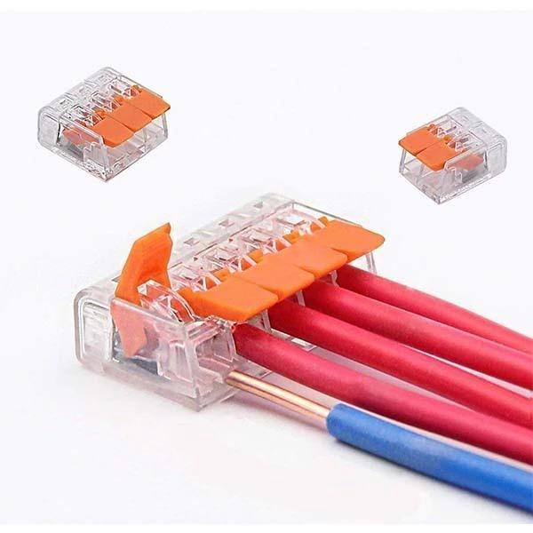 Electrical Flexible Compact Connector ( 75PCS Boxed )