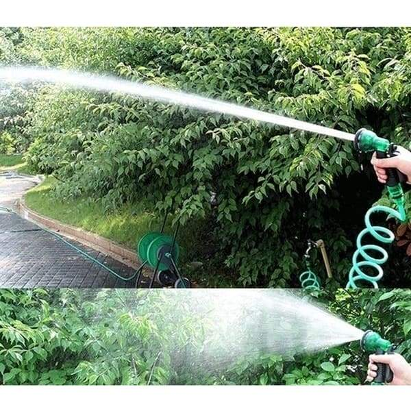 25FT-150FT New Magic Flexible Garden Hose Expandable Watering Hose With Plastic Hoses Telescopic Pipe With Spray Gun To Watering
