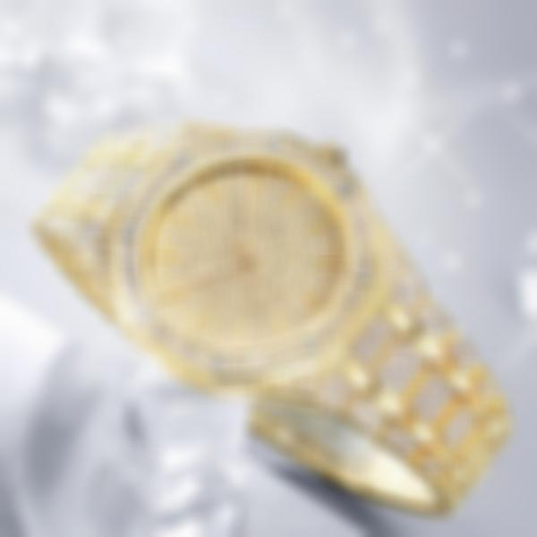 Unisex Jumbo Fully Iced Out Quartz Watch-Buy 2 Free Shipping