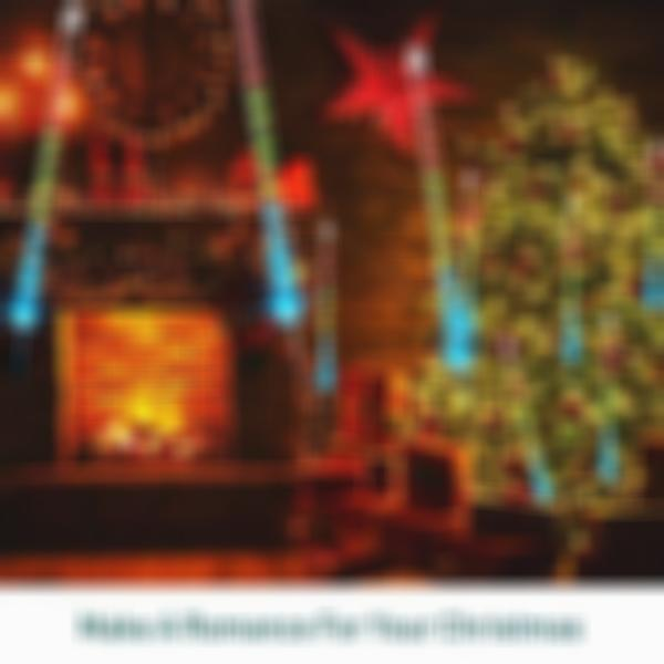 Hot Sales,50%OFF for The Coming Christmas-Snow Falling Lights For Christmas