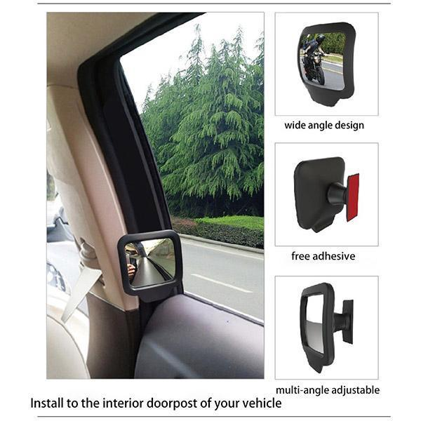 Car Back Seat Rear Mirror(Free Shipping Worldwide For 2 More)