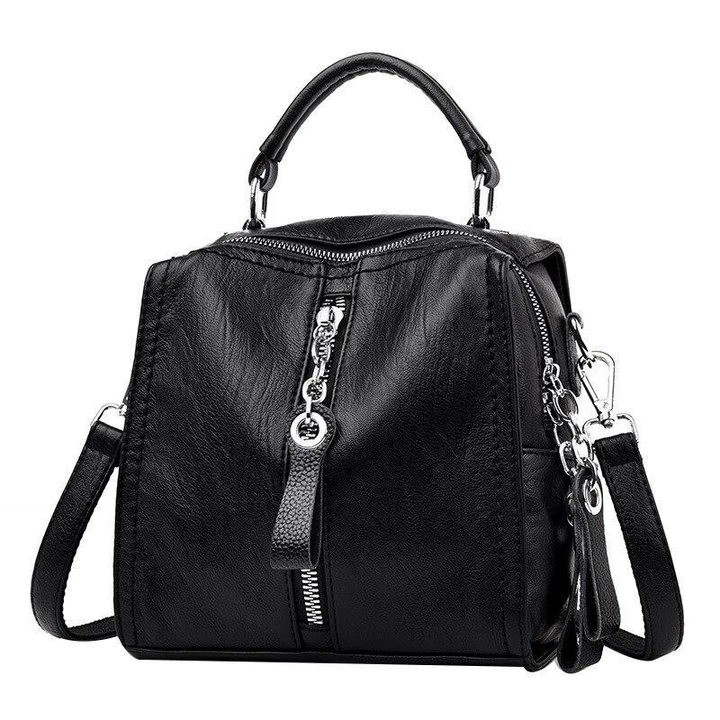 Fashion Leather Multipurpose Handbag