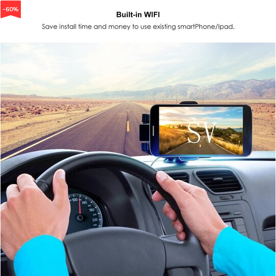 Car Backup Camera Rearview --- 40% OFF Only Today