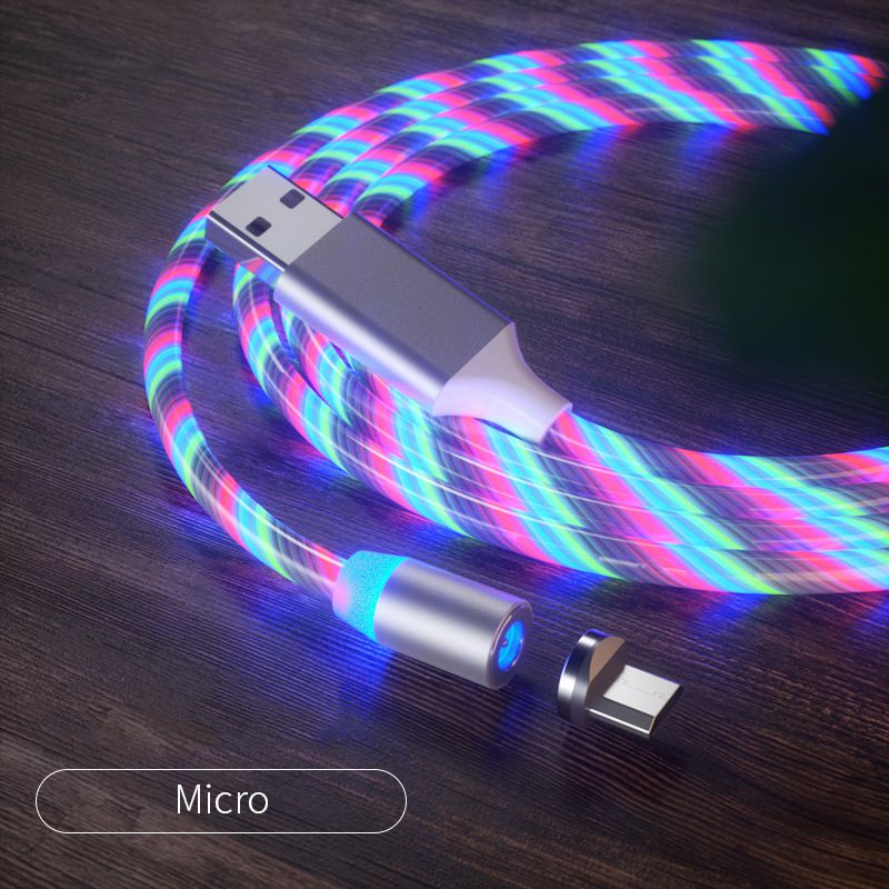 3 in 1 Magnetic USB Phone Data Cable
