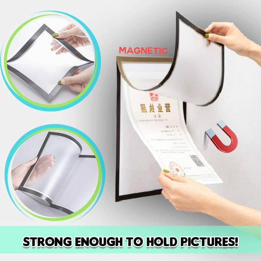 Slam Proof Magnetic Photo Frame Cover