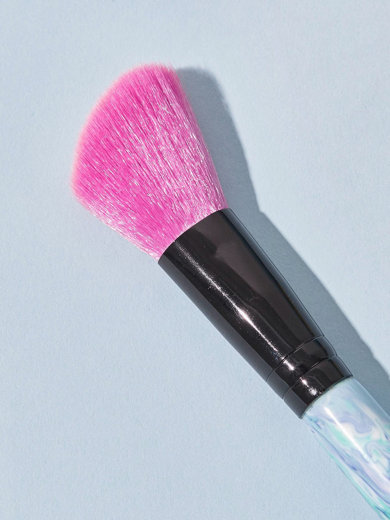 Marble Pattern Handle Makeup Brush