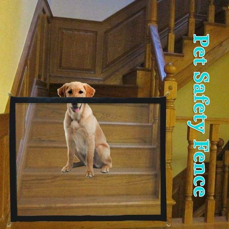 Pet Dog Isolation Network Portable Folding Safety Gate Baby Enclosure Stair Barrier Safety Fence