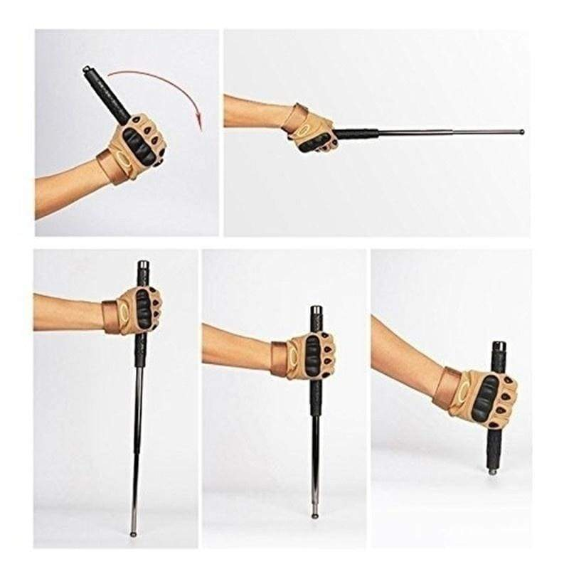 Upgraded Version Professional Self Defense Tool Extended Version Retractable Stick Men Gift