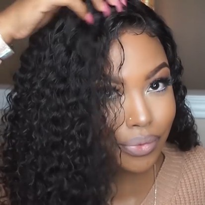 NEW YEAR Special OFF   Natural Edge Fashion Curly Wig