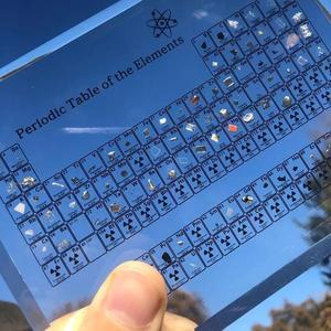 Yfanswy™🔥Hot Sale🔥 Collectable Periodic Table with REAL Elements