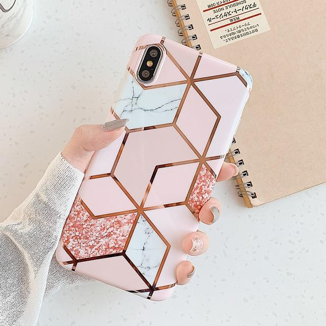 Pink Marble Case