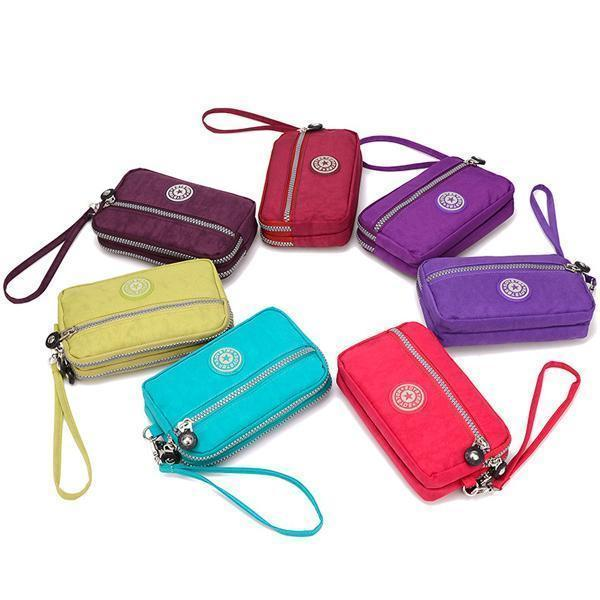 Three Layers Waterproof Wallet Phone Bag