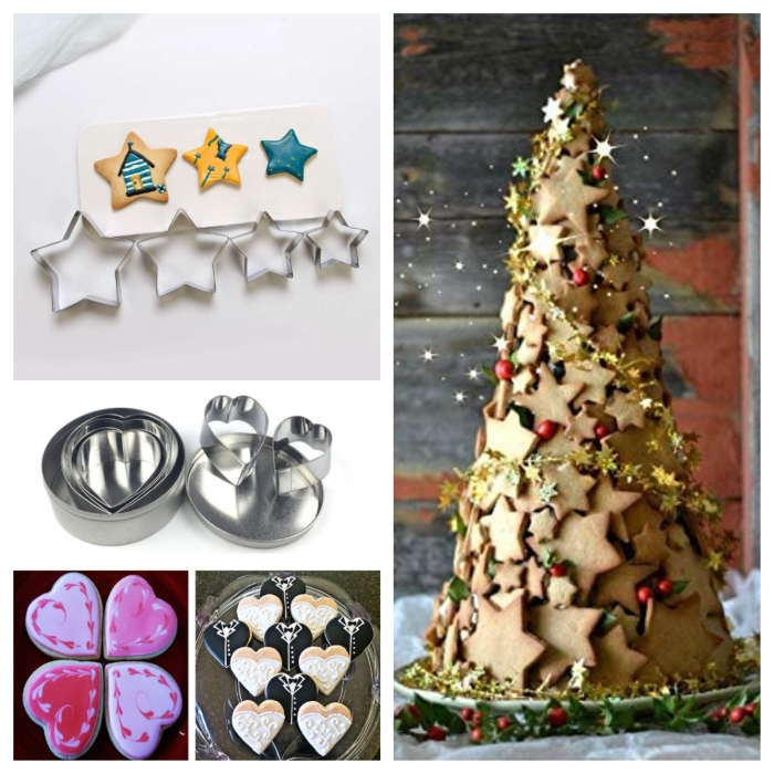 Cake Cookie Cutter Pastry Mold Set-5 pcs