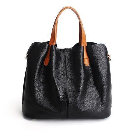 🔥HOT SALE🔥Two In One Leather Shopper Tote Bag